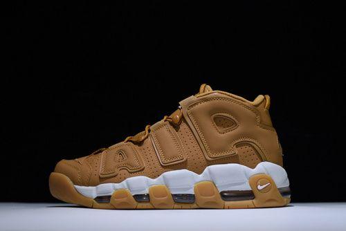 Suede Nike Air More Uptempo AIR Pippen Wheat-10418428 Whatsapp 86  17097508495 fa07ffbbc