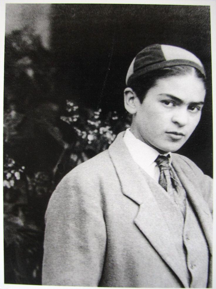(A young) Frida Kahlo