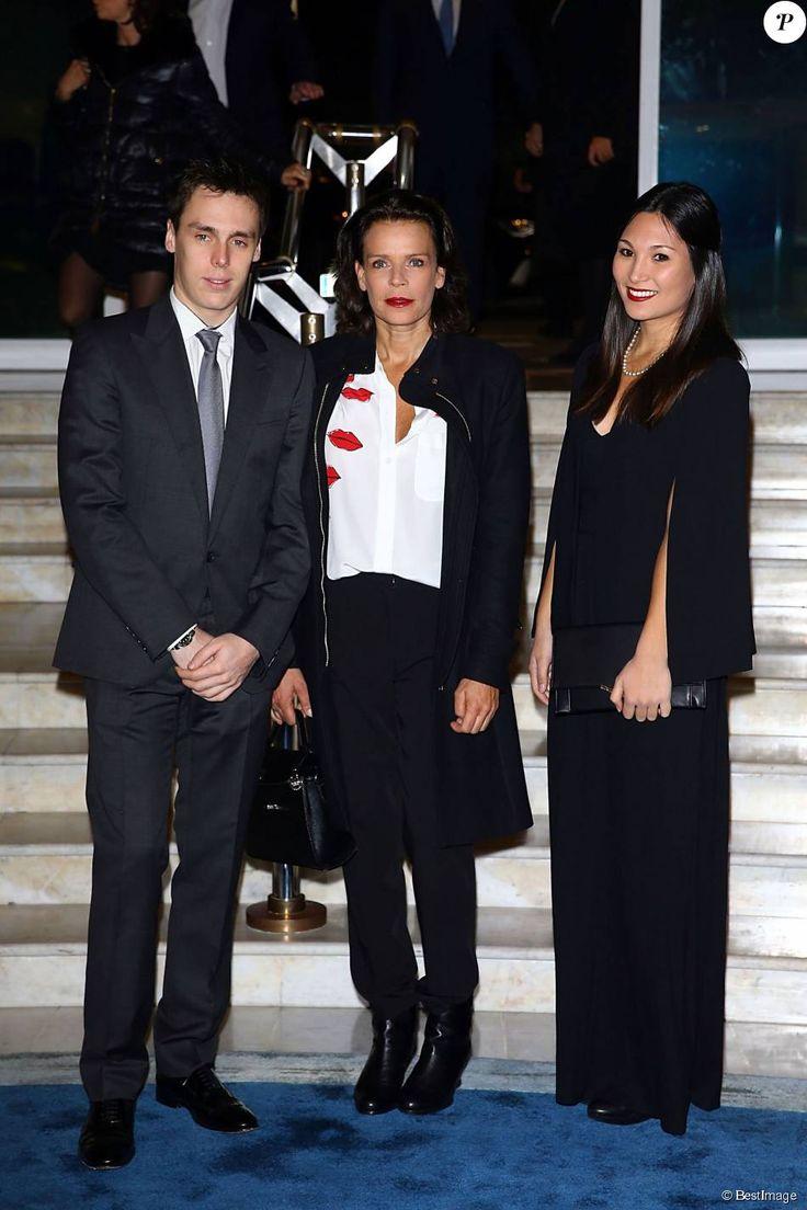 Louis, Stephanie, and Louis' girlfriend, Marie