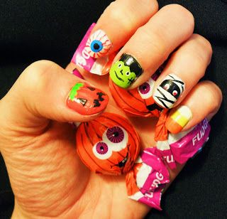 Radd Life: Nail Tip Tuesday: Halloween