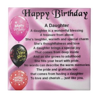 Happy Birthday Adult Daughter | Happy Birthday Step Daughter Poems