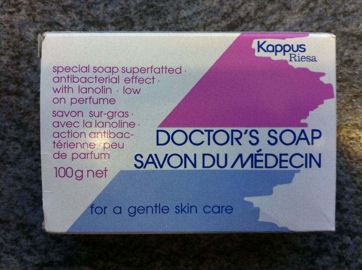 Sensitive Doctor s Soap. 100g Bar. For Gentle Skincare Superfatted Antibacterial