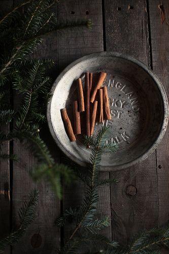 evergreen & cinnamon by Hanna Queen