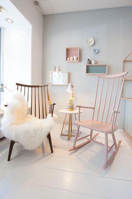 Pastel concept store