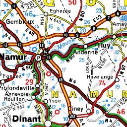 Itinéraire Biercée - Thuin ViaMichelin : calcul de trajet Biercée Thuin