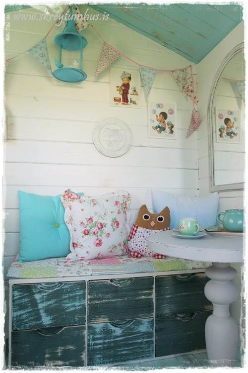 Garden Shed Playhouse Makeover Dossa At Http Www