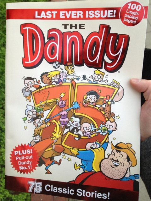 The last ever print edition of iconic British comic The Dandy goes on sale - published since 1937