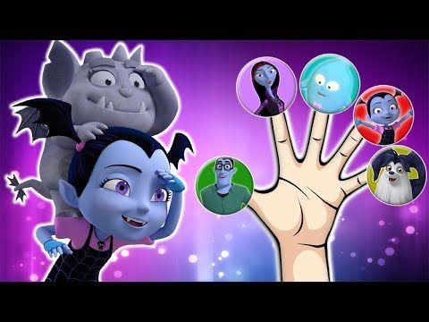 Vampirina in Cinema Finger Family | Nursery Rhymes for Children - YouTube