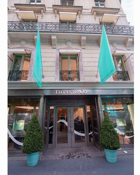 【ELLEgirl】ティファニーがパリ・シャンゼリゼ通りに新店をオープン! エル・ガール・オンライン
