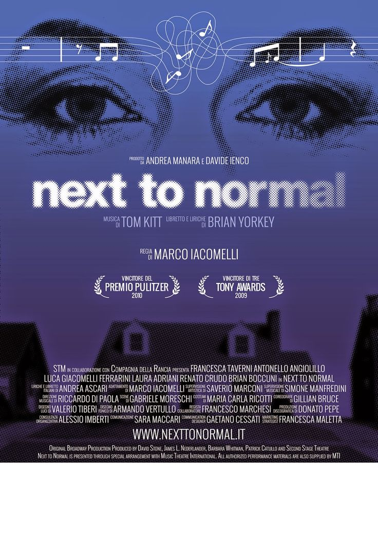 "TG Musical e Teatro in Italia: ""Next to Normal"": Andrea Ascari, autore delle liri..."