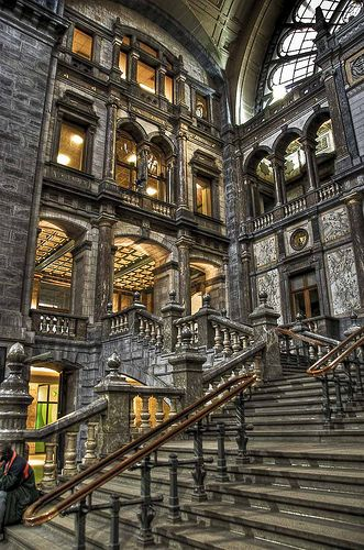 Antwerp Central Station, Belgium.