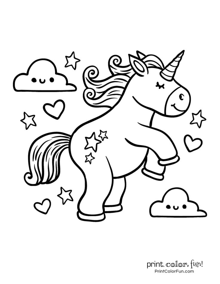 100 magical unicorn coloring pages The ultimate (free