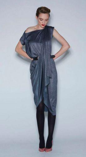 WORLD AW16 Collection  Marias Dress #silver #liquidfashion #fashion #madeinNZ #worldbrandNZ