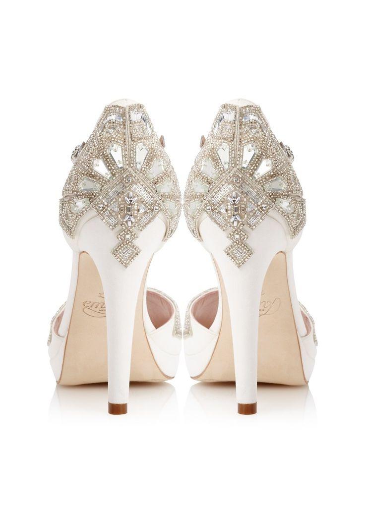 'Victoria' Bridal Shoes - Chic Vintage Brides : Chic Vintage Brides