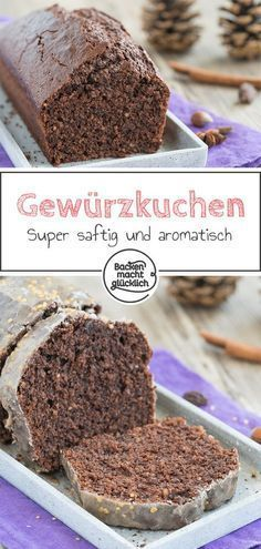 Simple recipe for juicy spice cake. The winter cake can after
