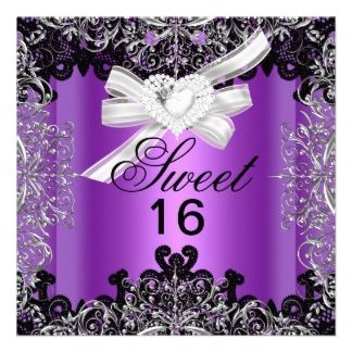 15 best Cheap Sweet 16 Invitations images on Pinterest Sweet 16