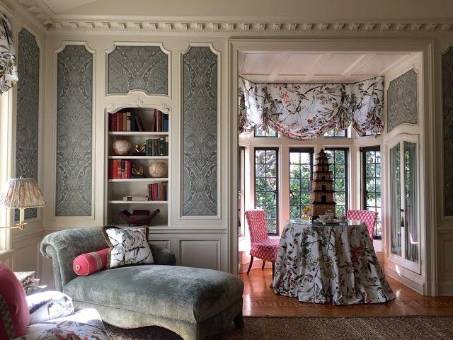 The Peak of Chic®: Nina Campbell at Greystone Mansion