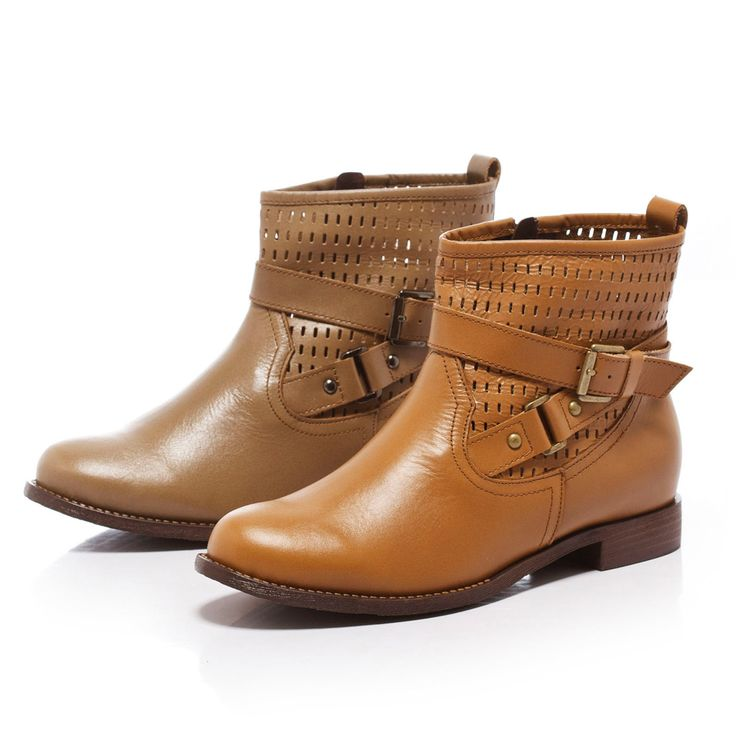 $3090-Fair Lady 美式中性風皮革短靴 棕 - Yahoo!奇摩購物中心