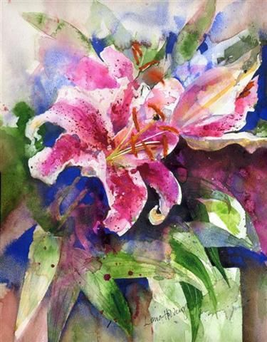 Lorna Holdcroft WATERCOLOR and INK