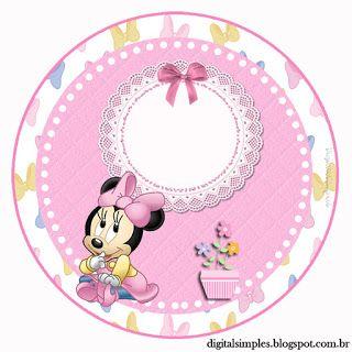 Kit Imprimible GRATIS Minnie Baby