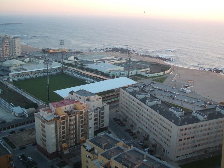 Estádio do Varzim e a Praia