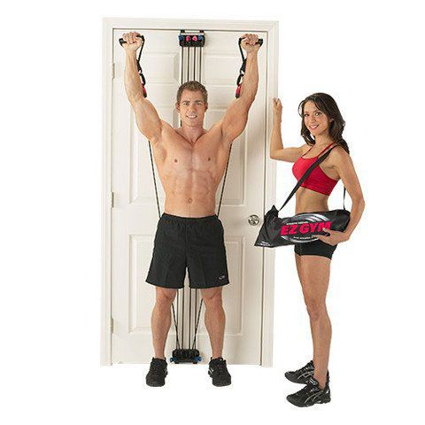 EZ Gym: Door Gym Supports a Ton of Workouts