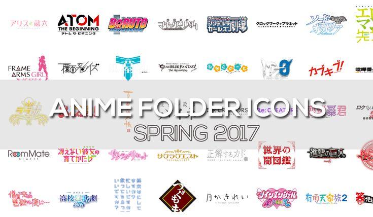 Anime Folder Icons Spring 2017 Free Download . http://www.sakuraindex.jp/desktop-goods/icons/anime-folder-icons-spring-2017-free-download/?utm_campaign=crowdfire&utm_content=crowdfire&utm_medium=social&utm_source=pinterest