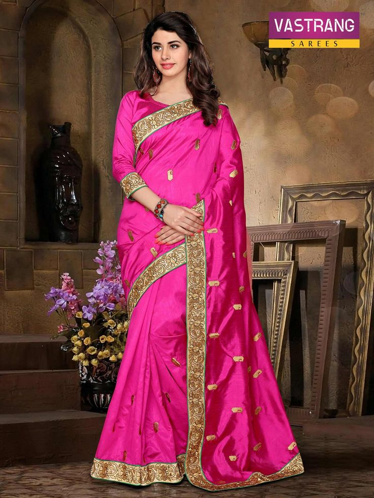 Lets ready to party with Silk Designer Saree