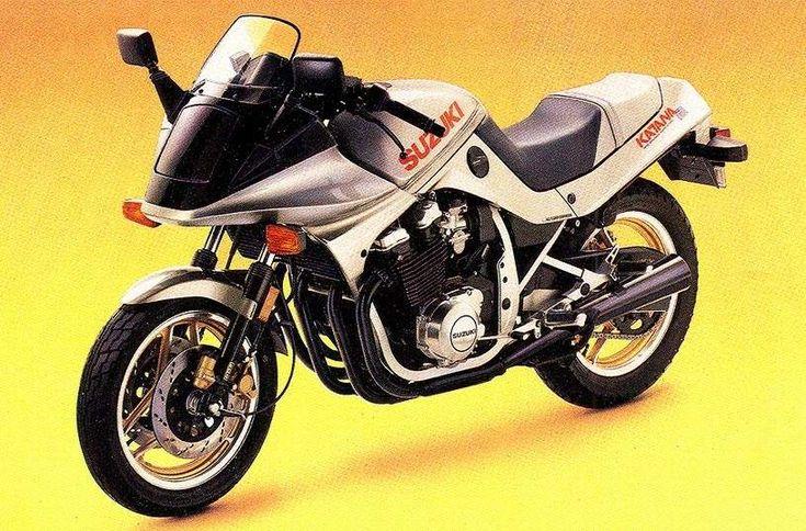 Suzuki GSX750SE Katana 1985