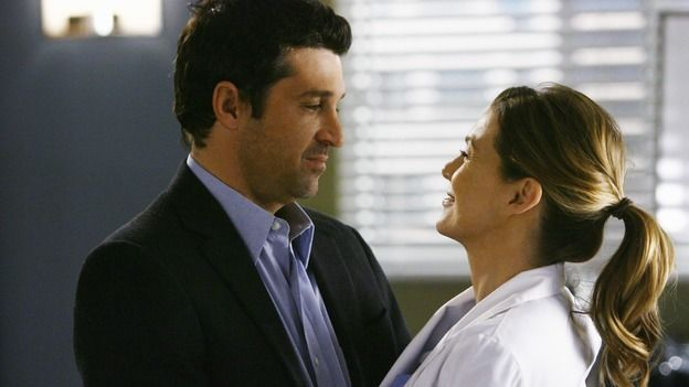Drs. Derek Shepherd and Meredith Grey (Patrick Dempsey and Ellen Pompeo) #GreysAnatomy