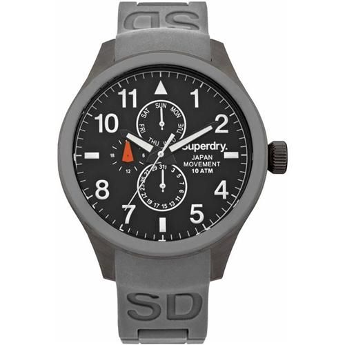 This is a fantastic Superdry Men's Scuba Grey Rubber Strap Watch
