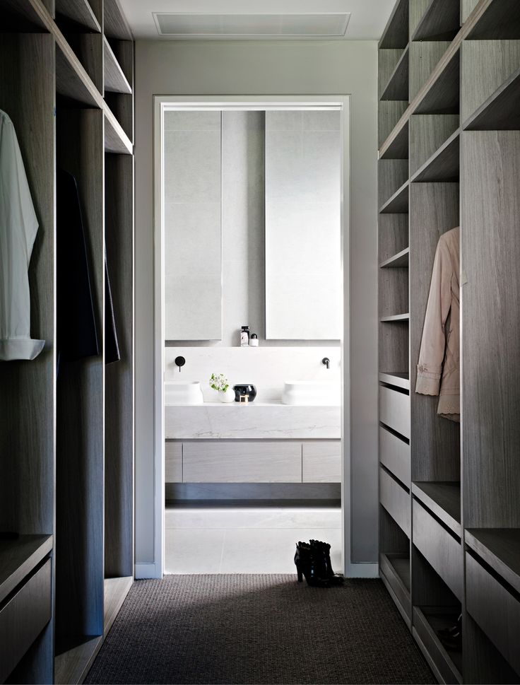 walk in wardrobe | vanity unit and mirrors | Mim Design worked through the interior design & planning process. Carefully curated interiors melding the architecture with interior detailing was paramount.