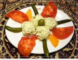 オリビア サラダ イラン・アラブ料理「アラジン|Aladdin」