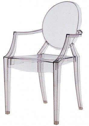 Louis Ghost Chair Replica - Philippe Starck Transparent Armchair