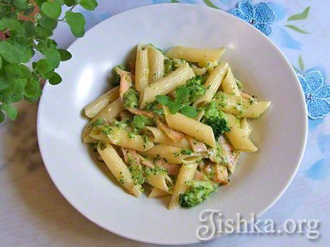 макароны с брокколи рецепт с фото