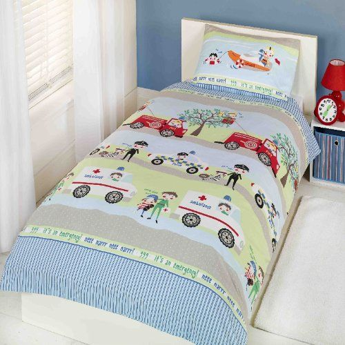 KIDS TWIN FIRE ENGINE POLICE CAR AMBULANCE COTTON RED DUVET COVER COMFORTER COVER PCJ SUPPLIES http://www.amazon.com/dp/B00H3HVX9A/ref=cm_sw_r_pi_dp_-kOtub0A87JHY