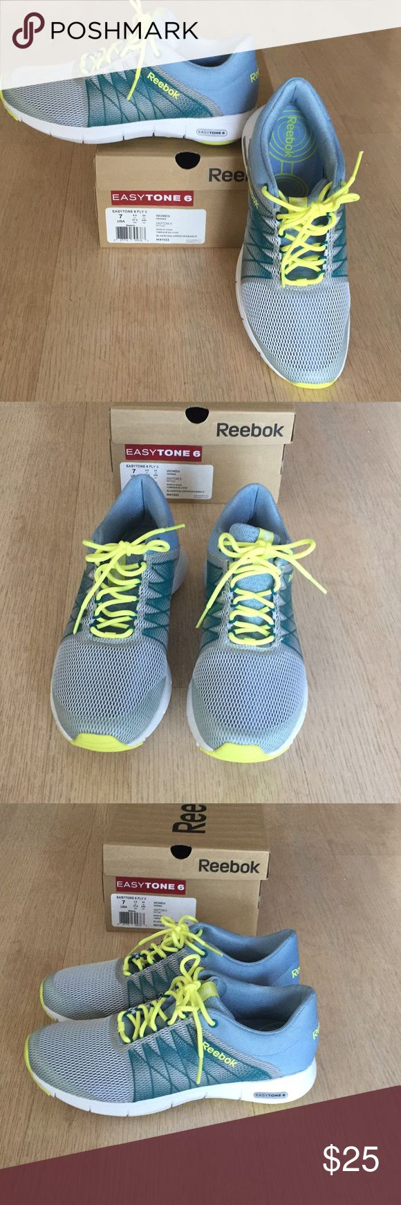 Reebok easytone 6 sneakers Reebok easytone 6 sneakers. Cute and comfortable. Brand new. Reebok Shoes Athletic Shoes