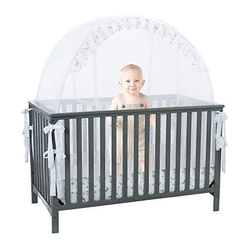 Child Crib Security Pop Up Tent Premium Child Mattress Cover
