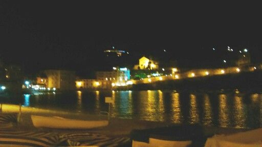 Baia del silenzio by night