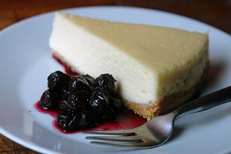 I've been making this baked vanilla cheesecake from a Gordon Ramsay recipe that I tore out of a weekend newspaper magazine supplement since way back in 2004