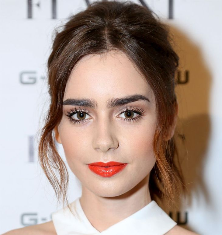 lily collins makeup claudinha stoco 2 As Maquiagens da Lily Collins