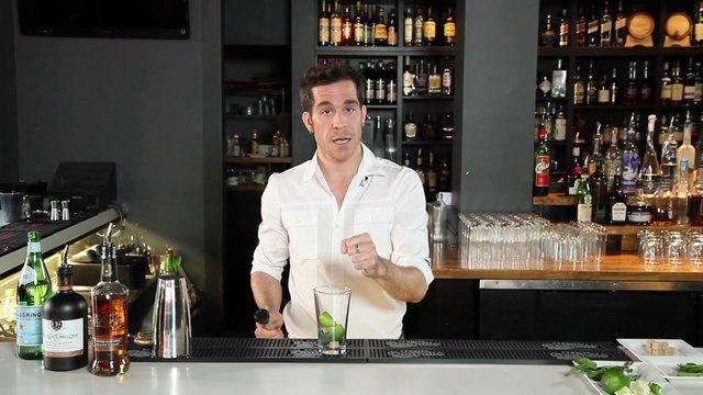 Mix up a Caramel Ginger Mojito with Black Velvet Toasted Caramel Whisky