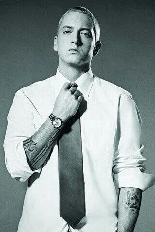 Eminem - he's pulled through some dark places and love his daughter more than anything