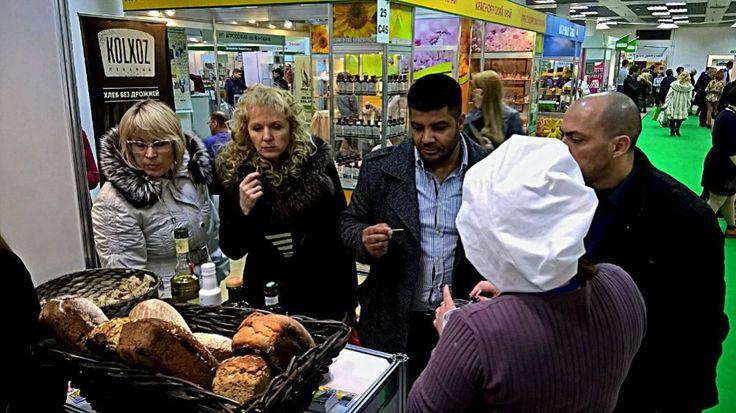 """Компания """"Пекарня Литовский хлеб"""" во своими друзьями из компании """"Оливатека"""" представили свои продукты на знаковом мероприятии"""