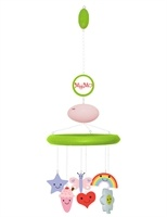 Lovely green wood with pink MP3 player and pretty characters
