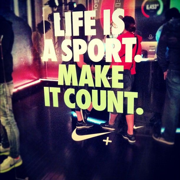 Nike Fuel Band!!!! LOVE mine!!!!! Second day having it and I'm in love <3... life is a sport make it count