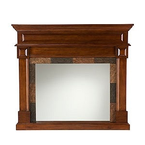 Mantel Façade with Mirror from World Market