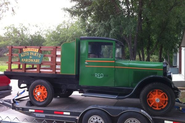 1928 REO Speed Wagon Tonner Flatbed Truck for Sale in KINGSLAND, TX | RacingJunk Classifieds