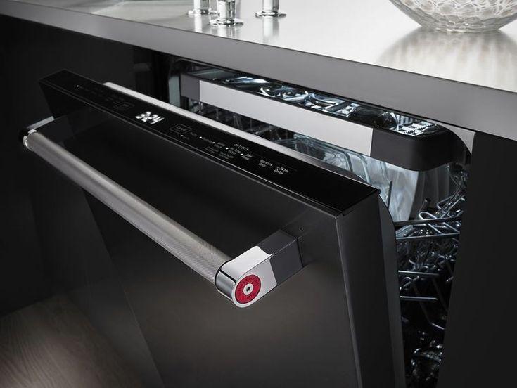 KitchenAid Black Stainless Steel dishwasher