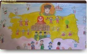23 nisan ulusal egemenlik ve çocuk bayramı resim yarışması ile ilgili görsel sonucu